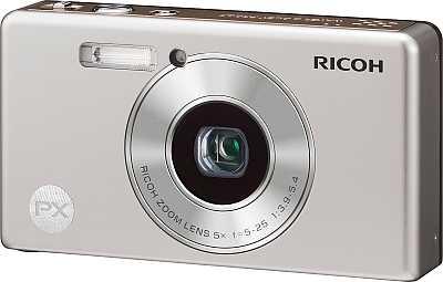Ricoh PX champagne silver [Foto: Ricoh]
