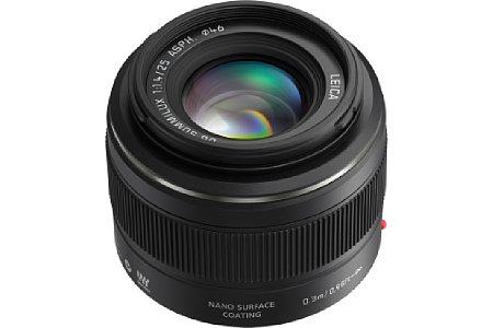 Panasonic Leica DG Summilux 25 mm F1.4 ASPH [Foto: Leica/Panasonic]