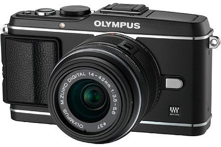 Olympus E-P3 schwarz [Foto: Olympus]