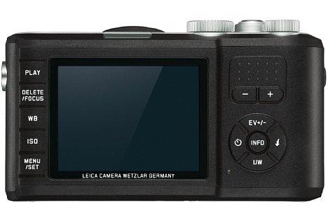 Bild Extra große Tasten, die TPE-Armierung sowie das Monitor-Schutzglas sollen die LeicaX-U (Typ 113) besonders unterwassertauglich machen. 15 Meter tief kann die Leica ohne zusätzliches Gehäuse tauchen. [Foto: Leica]
