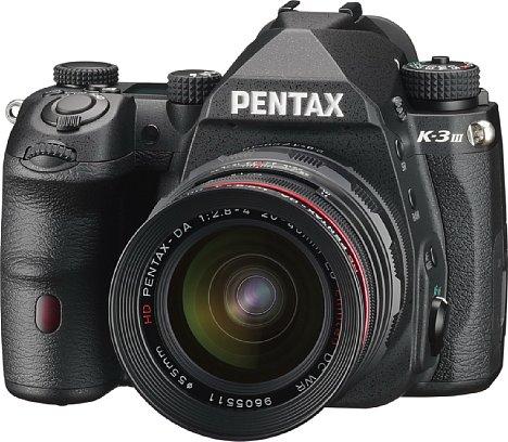 Bild Pentax K-3 Mark III. [Foto: Pentax]