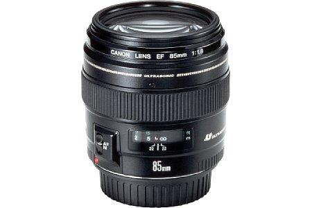 Canon EF 85 mm 1.8 USM [Foto: imaging-one.de]