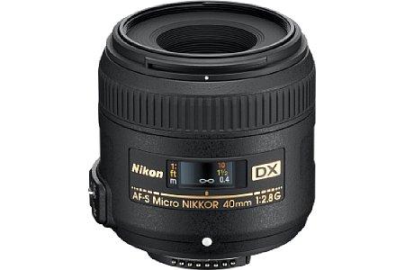 Nikon AF-S 40 mm 2,8 G Micro DX [Foto: Nikon]