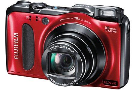 Fujifilm FinePix F600EXR schwarz [Foto: Fujifilm]