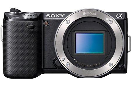 Sony NEX-5N schwarz [Foto: Sony]