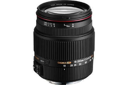 Sigma 18-200mm F3.5-6.3 II DC OS HSM [Foto: Sigma]