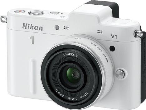 Bild Nikon 1 V1 mit 1 Nikkor 10 mm [Foto: Nikon]