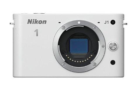 Bild Mit dem Nikon 1 System (hier dieNikon 1 J1) kam 2011 erstmals ein 1-Zoll-Sensor in Fotokameras auf den Markt. [Foto: Nikon]