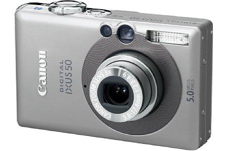 Digitalkamera Canon Digital Ixus 50 [Foto: Canon Deutschland]