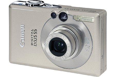 Digitalkamera Canon Digital Ixus 55 [Foto: Canon Deutschland]
