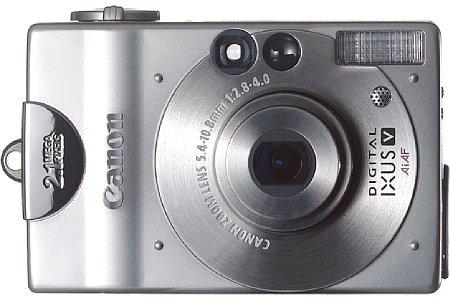 Digitalkamera Canon Digital Ixus V [Foto: Canon]