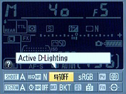 Nikon D800 Screenshot Active D-Lightning [Foto: MediaNord]