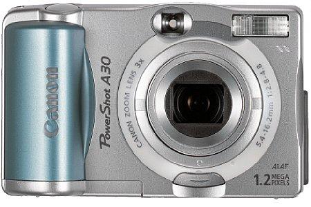 Digitalkamera Canon PowerShot A30 [Foto: Canon]