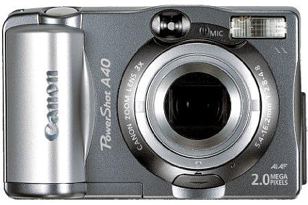 Digitalkamera Canon PowerShot A40 [Foto: Canon]