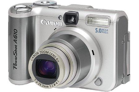 Digitalkamera Canon PowerShot A610 [Foto: Canon Deutschland]