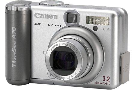 Digitalkamera Canon PowerShot A70 [Foto: Canon Deutschland]