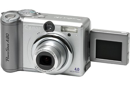 Digitalkamera Canon PowerShot A80 [Foto: Canon Deutschland]
