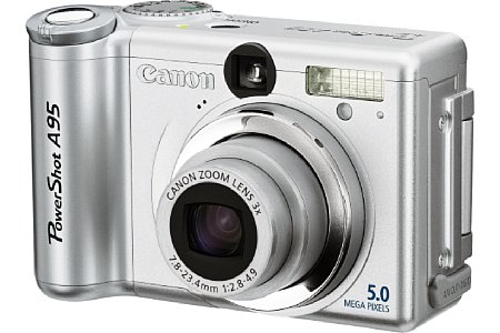 Digitalkamera Canon PowerShot A95 [Foto: Canon Deutschland]