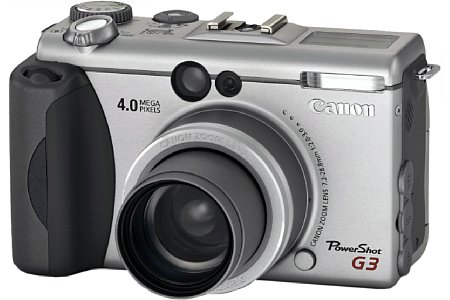 Digitalkamera Canon PowerShot G3 [Foto: Canon]