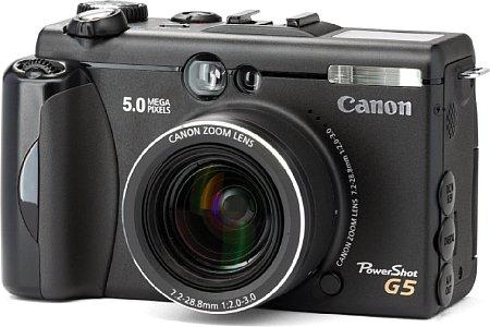 Digitalkamera Canon PowerShot G5 [Foto: Canon Deutschland]