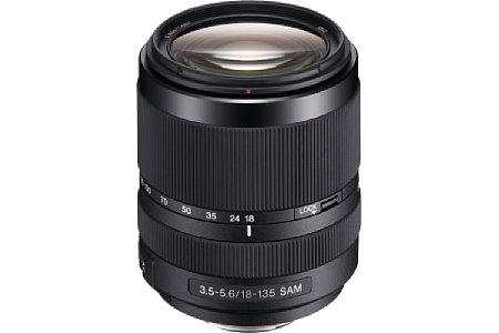 Sony 18-135 mm 3.5-5.6 SAM (SAL-18135) [Foto: Sony]