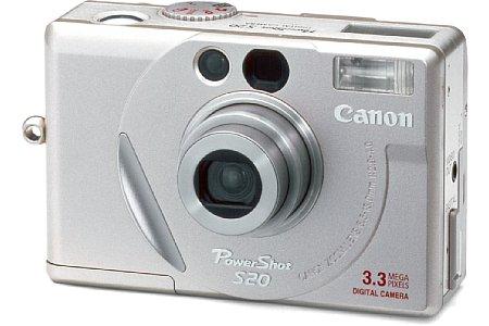 Digitalkamera Canon PowerShot S20 [Foto: Canon]