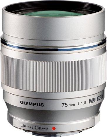 Bild Olympus MZD 75 mm 1.8 ED [Foto: Olympus]