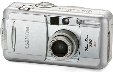 Digitalkamera Canon PowerShot S30 [Foto: Canon]