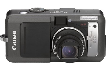Digitalkamera Canon PowerShot S70 [Foto: Canon]