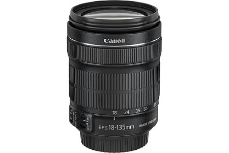 Canon EF-S 18-135 mm 3.5-5.6 IS [Foto: Canon]