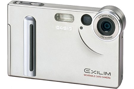 Digitalkamera Casio Exilim EX-S2 [Foto: Casio]
