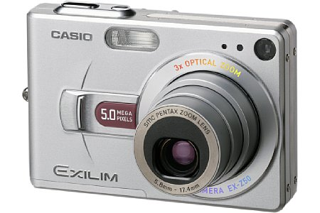 Digitalkamera Casio Exilim EX-Z50 [Foto: Casio]