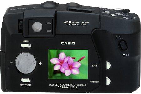 Digitalkamera Casio QV-3500EX [Foto: Casio]