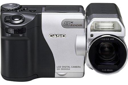 Digitalkamera Casio QV-8000SX [Foto: Casio]