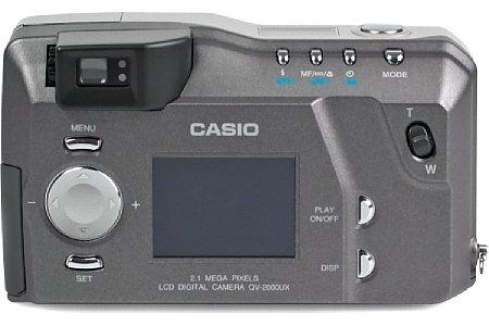 Digitalkamera Casio QV-2000UX/Ir [Foto: MediaNord]