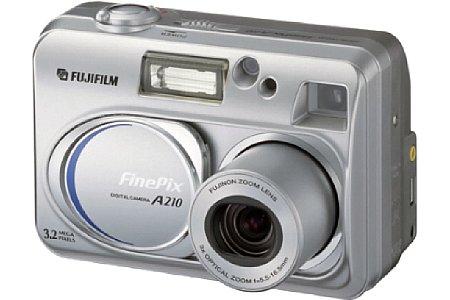 Digitalkamera Fujifilm FinePix A210 [Foto: Fujifilm Europe]