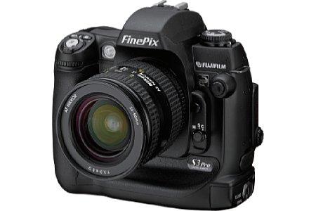 Digitalkamera Fujifilm FinePix S3 Pro [Foto: Fujifilm Europe]