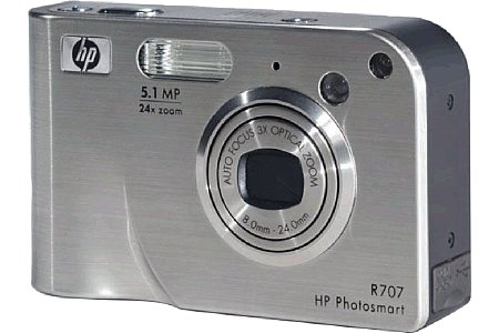 Digitalkamera Hewlett-Packard Photosmart R707 [Foto: Hewlett-Packard]