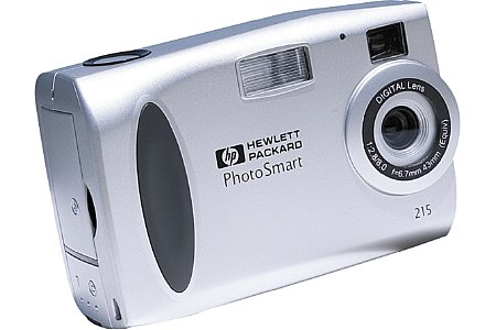 Digitalkamera Hewlett-Packard Photosmart C215 [Foto: Hewlett-Packard]