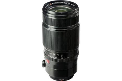 Bild Das Fujifilm XF 50-140 mm 2,8 R LM OIS WR glänzt nicht nur mit seiner hohen Lichtstärke, sondern auch mit der Ausstattung: Bildstabilisator, Spritzwasserschutz, Innenzoom, Innenfokus und Blendenring. [Foto: Fujifilm]