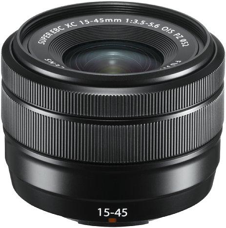 Bild Wird nun voll unterstützt: das Powerzoom-Objektiv Fujifilm XC 15-45 mm F3.5-5.6 OIS PZ. [Foto: Fujifilm]