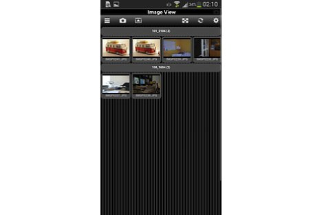 Bild JPEG-Fotos können über die Weboberfläche der Pentax FluCard angesehen und heruntergeladen werden. [Foto: MediaNord]