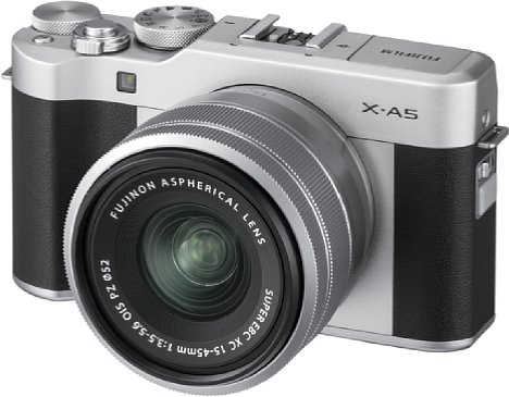 Bild Mit ihrem 24-Megapixel-Sensor nimmt die Fujifilm X-A5 sogar 4K-Videos auf. [Foto: Fujifilm]