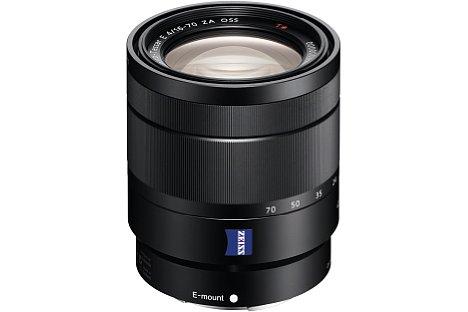 Bild Das hochwertige Sony E T* 16-70 mm F4 ZA OSS Vario-Tessar (SEL-1670Z) deckt einen kleinbildäquivalenten Brennweitenbereich von 24 bis 105 Millimeter ab. [Foto: Sony]