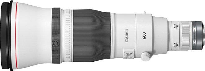 Bild Das Canon RF 600mm F4 L IS USMbasiert ebenfalls auf der EF-Version von 2018, bietet aber auch einen schnelleren Autofokus dank neuartigem Dual Drive Power System. [Foto: Canon]