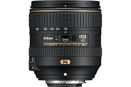 Nikon AF-S 16-80 mm 1:2.8-4E ED VR. [Foto: Nikon]