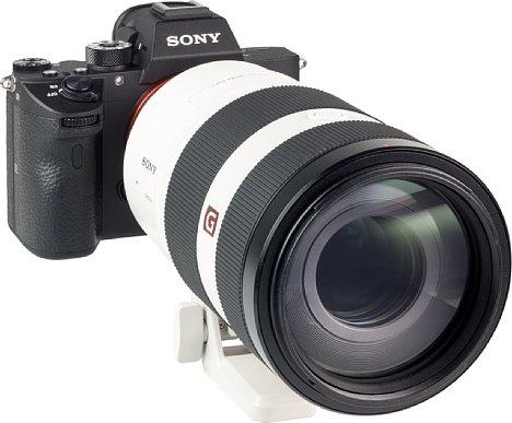 Bild Das 77mm-Filtergewinde des Sony FE 100-400 mm F4.5-5.6 GM OSS besteht leider ebenfalls aus Kunststoff. [Foto: MediaNord]