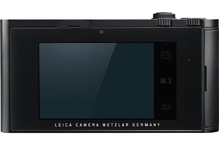 Die Leica T ist in Silber oder, wie hier gezeigt, in Schwarz erhältlich. [Foto: Leica]