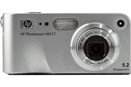 Digitalkamera Hewlett-Packard Photosmart M517 [Foto: Hewlett-Packard]
