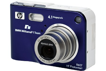 Digitalkamera Hewlett-Packard Photosmart R607 [Foto: Hewlett-Packard]